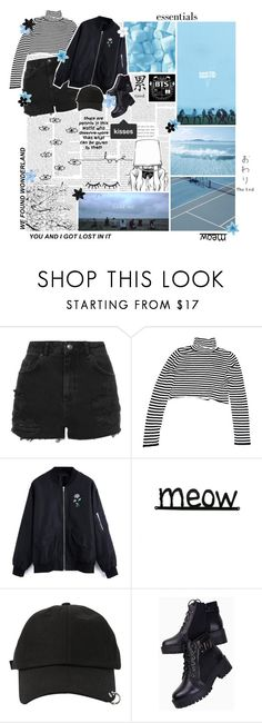 """""""BBGKPOP Round 01 : Introductions // Sleep under the stars with me."""" by delicatekissestoloki ❤ liked on Polyvore featuring GET LOST, Topshop, StyleNanda, Katie and ASOS"""