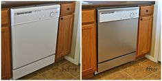 Amazon.com: Stainless Steel Instant Magnetic Dishwasher Appliance Cover, Skin, Panel: Kitchen & Dining