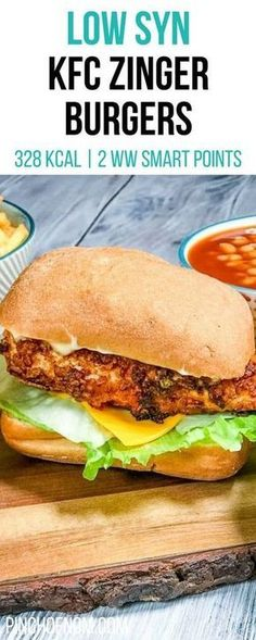 slimming watchers burgers recipes points zinger weight smart world pinch kcal syns syn nom 328 Low Syn KFC Zinger Burgers Pinch Of Nom Slimming World Recipes 328 kcal 2 Syns 2 Weight WaYou can find Slimming world recipes and more on our website Slimming World Fakeaway, Slimming World Dinners, Slimming World Recipes Syn Free, Slimming World Diet, Slimming Eats, Kfc Chicken Slimming World, Slimming World Lunch Ideas, Actifry Recipes Slimming World, Slimming World Cheesecake