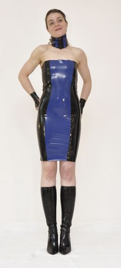 Latex Outfit by XALATEX #fashion #mode #kleid #style #clothes
