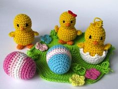 Items similar to Easter Chicks / Chickens Crochet Pattern / Amigurumi on Etsy Crochet Patterns Amigurumi, Crochet Toys, Free Crochet, Crochet Easter, Crazy Patterns, Crochet Basics, Crochet Animals, Easter Crafts, Crochet Projects