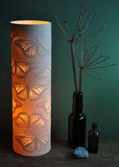 Monarch Column Porcelain Lamp. £200.00, via Etsy.
