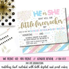 happy new year gender reveal party by thereddoorcreations on etsy baby j 2 pinterest gender reveal reveal parties and gender