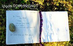 Voimapuutarha Kirjani. My powergarden book. www.runotalo.net