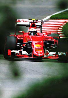 On Track w/Kimi Raikkonen ahead of the 2015 #F1 Canadian Grand Prix