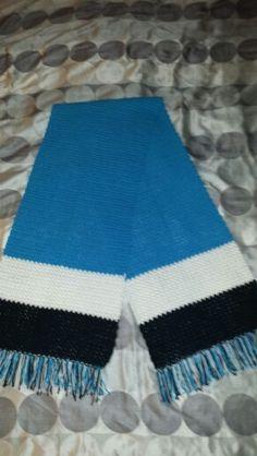 Cronulla Sharks dbl scarf Sharks, Crochet Projects, Shark