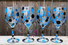 Personalized Wine Glass 20 oz Birthday, Bridal, Wedding, Events, Anniversary, Party Bachlorette on Etsy, $10.00