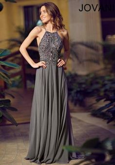 2015 Jovani Flowy Skirt Prom Dress 92605