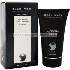 Sea of Spa Black Pearl Purifying Peel Off Mask is a special combination of Pearl powder, seaweed and Dead Sea minerals that creates a unique cleansing and purifying mask that rejuvenates skin cells. Suitable for all types of skin. Rich in natural essences for nourishing, clearing, healing and moisturizing the skin. After use the skin will look clean and well cared for.