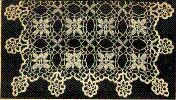 Buffet Scarf - crochet motifs can be This motif could be repeated for a tablecloth, chair or vanity set if desired.