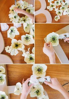 Paper Flower DIYs with West Elm + Giveaway! | Green Wedding Shoes Wedding Blog | Wedding Trends for Stylish + Creative Brides