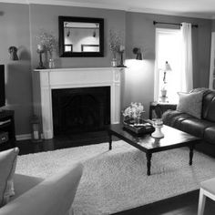 Black And Gray Living Room Decorating Ideas