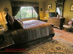 Sedona Vacation Rental: MANZANITA Excellent accommodations for those who want to pamper themselves! Call RED ROCK REALTY at 800-279-1945 for rates and dates. See You Soon!