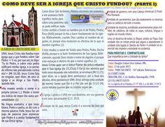 GOTA CATÓLICA: Medicina para la Fe en Portugués: COMO DEVE SER A ...