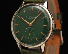 VINTAGE GIRARD PERREGAUX STAINLESS STEEL MANUAL WIND SWISS AUTHENTIC MENS WATCH   eBay #luxurywatch #GirardPerregaux Girard-Perregaux. Swiss Watchmakers watches #horlogerie @calibrelondon
