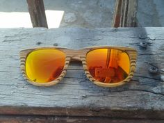 Helioslook wooden sunglasses