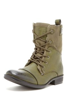 J75 by JUMP Trooper Military Boot - Olive***