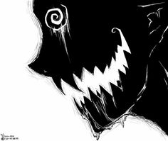 shadow screamer by Vitamin-Emo on DeviantArt Creepy Drawings, Dark Art Drawings, Cool Drawings, Dark Art Illustrations, Illustration Art, Shadow Creatures, Shadow Monster, Monster Concept Art, Arte Obscura