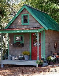 Potting Shed~ Fall Dressing