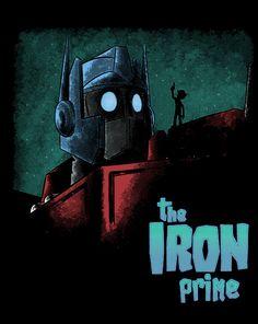 the iron giant/transformers mash up Transformers T Shirts, Transformers Optimus, Optimus Prime, The Iron Giant, Fandom Crossover, Nerd Geek, Shirt Shop, Cool T Shirts, Cool Stuff