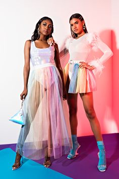 Pride Outfit, Queen Outfit, Teen Fashion Outfits, Rave Outfits, Pastel Skirt, Rainbow Outfit, Ladies Poncho, Pride Parade, Colourful Outfits