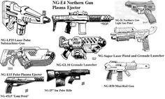 Weapon Rifts - Northern Guns