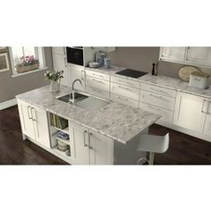 Wilsonart Cippollino Bianco Hd Laminate Sheet Replacing Kitchen