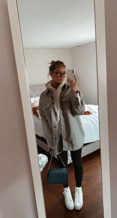Trendy Fall Outfits, Winter Fashion Outfits, Casual Winter Outfits, Look Fashion, Autumn Fashion, Casual Fall Fashion, Blazer Outfits Casual, Cute Sweater Outfits, Fall Transition Outfits
