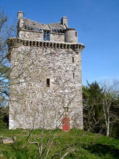 Fatlips Castle, Roxburghshire, Scotland