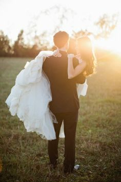 dreamy wedding photo - so calm and full of love
