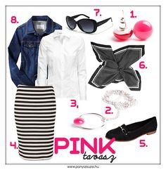 Tavaszi outfit egy csipetnyi pinkkel