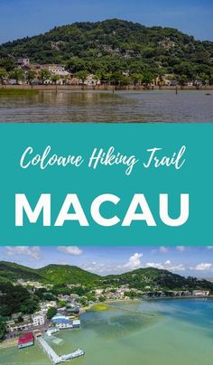 Coloane Hiking Trail in Macau. Coloane is a green escape from the busy side of Macau. #macau #macautravel #coloane #hikingtrail