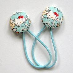 Hello Kitty x Liberty of London Covered Button Hair