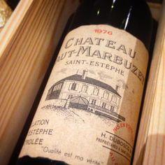 Des celles là on en croise pas tous les jours ...! #wine #vin #instawine #saintestephe #40 #1976