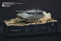 MERKAVA Mk.III converted & painted by Johannes Pambudi Utomo http://www.puttyandpaint.com/projects/1409