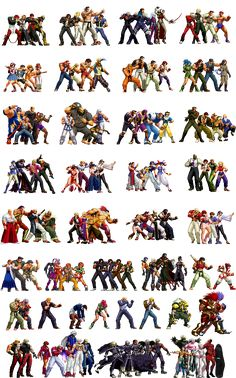 The King of Fighters 2011: Infinite Match by True-BackLash