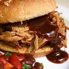 Texas pulled pork i slow cooker - Lina - Recept