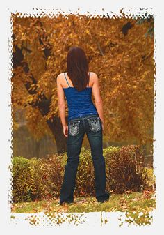 http://www.ropesandrhinestones.com Cowgirl Tuff Jazzy jeans from Ropes & Rhinestones