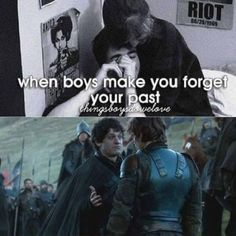 When boys make you forget your past .... Yes ladies (or gentlemen) Ramsey Bolton will definatley make you forget every thing about your past and turn your life into a living hell