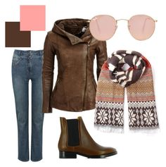 Urban country by stefania-fornoni on Polyvore featuring polyvore, fashion, style, M&Co, Acne Studios, Ray-Ban and country