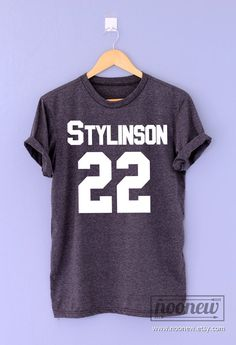 Stilinski 24 screen on heather black shirt T Shirt by Noonew Stilinski 24, Louis And Harry, Tee Shirts, Tees, Heather Black, Larry Stylinson, Grumpy Cat, Harry Styles, Trending Outfits