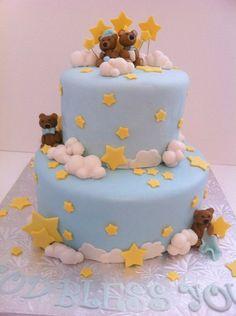 Christening Cake Cake by BAKED