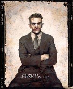 Holy Mug Shots, Batman! Totally Sinister Re-Imaginings Of Gotham's Villains