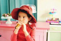 Amber Raffine Bucket Hat (4C)