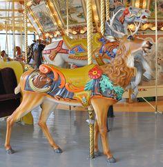Spillman Carousel Deer, Grand Rapids, MI