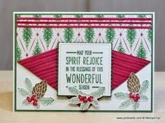 JanB Handmade Cards Atelier: Reverse Collar-Fold Video