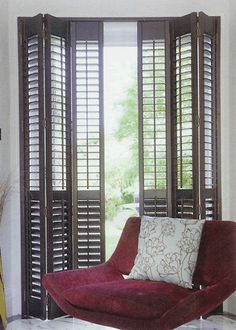 This article looks at The Advantages Of Plantation Shutters and how they improve your home. Plantation shutters are a great addition to any room. Louvered Shutters, Interior Shutters, Wooden Shutters, Wooden Windows, Interior Barn Doors, Wooden Doors, Windows And Doors, Exterior Doors, Windows