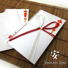 Japanese Wedding Money Gift Envelope : cash gift called Oshugi is customarily given to the bride and groom ...
