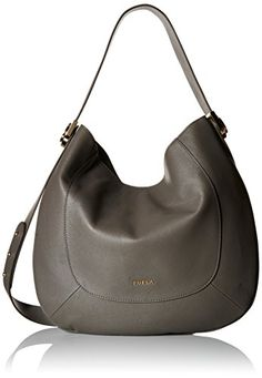Furla Luna Medium Hobo Bag, Lava, One Size