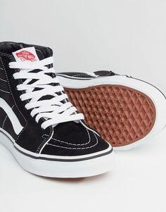 c5f8719b7d7 Vans Classic - Sk8 - Baskets montantes - Noir et blanc. Vans Montante  FemmeBasket Montante NoirTenue VansChaussureModeTenuesChaussures ...